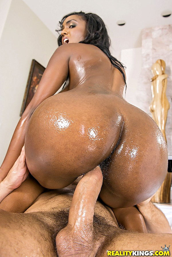 Tits big chick Black with